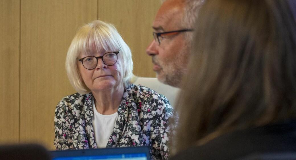 Rektor Berit Rokne og styret sørger for å ta godt vare på nynorsk språk på Høgskulen på Vestlandet (HVL). Men heller ikke HVL oppfyller kravene i mållova, siden andelen bokmål er under 25 prosent i minst en av kategoriene som måles av Språkrådet.