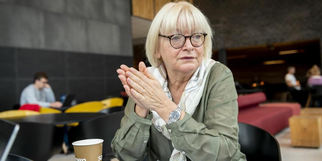Berit Rokne, rektor ved Høgskulen på Vestlandet, meiner ein må kunne bruka dei studiestadane ein hartil desentralisert utdanning. Foto: Tor Farstad
