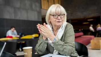 Rektor Berit Rokne ved Høgskulen på Vestlandet. Foto: Tor Farstad
