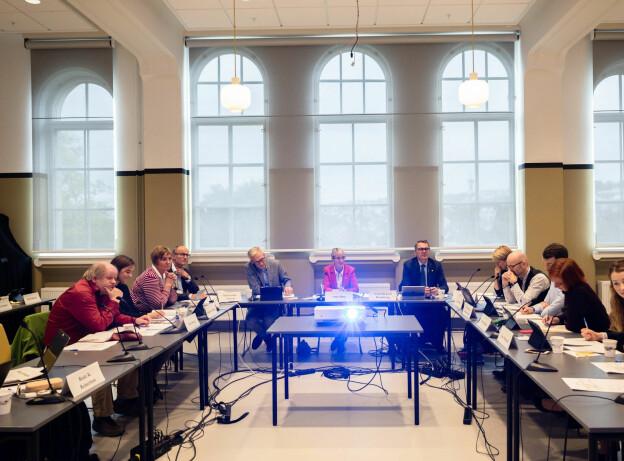 Styret ved NTNU vedtok å ta direkte styring over det konfliktrammede Institutt for historiske studier. Foto: Skjalg Bøhmer Vold