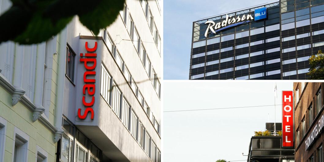 De store nasjonale hotellkjedene har et fortrinn i offentlige anbudskonkurranser, mener NHO Reiseliv. Foto: Mats Arnesen