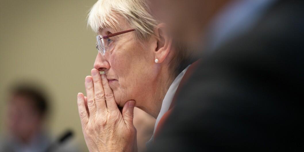 Den nyansatte rektoren ved NTNU har allerede fra hun ble konstituert i august i år, vært en favoritt for mange til stillingen. Foto: Skjalg Bøhmer Vold
