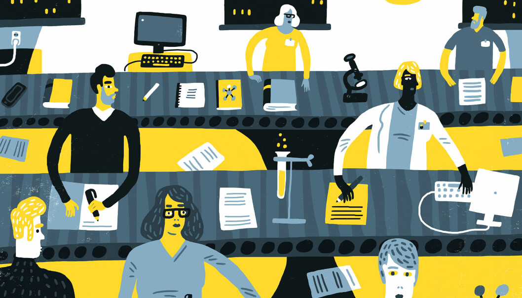 Det er ingen ensom elite som bidrar til høyt sitert forskning, skriver artikkelforfatterne.