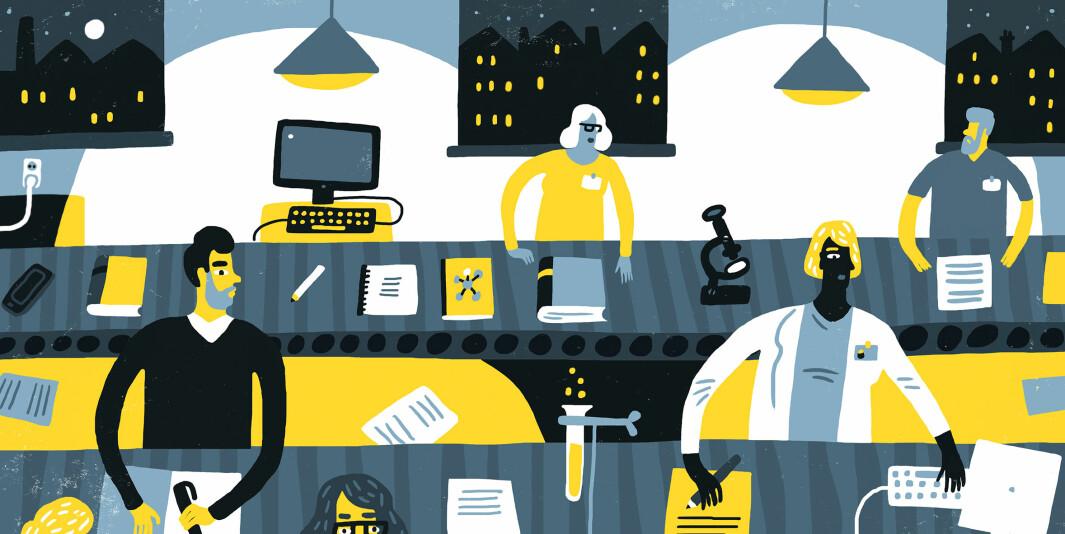 I snitt er forskere minst fornøyde på jobb når de er 43 år, ifølge studie