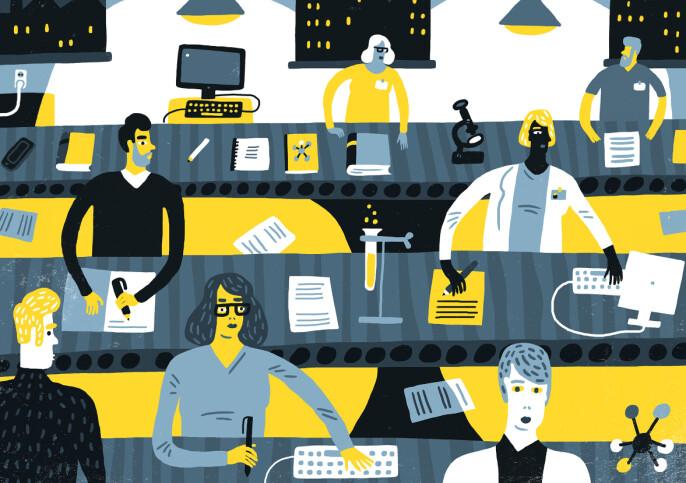 Langer ut mot «epidemisk» vekst i kommunikasjons-folk på universitetene