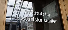 Prosessen rundt Institutt for historiske studier var det motsatte av tillitsbasert ledelse