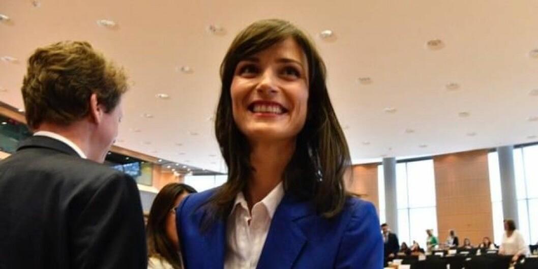 Mariya Gabriel kan bli ny sjef for forskning i EU. Men vil hun få forskning i tittelen sin? Foto: Mauro Bottaro/EU