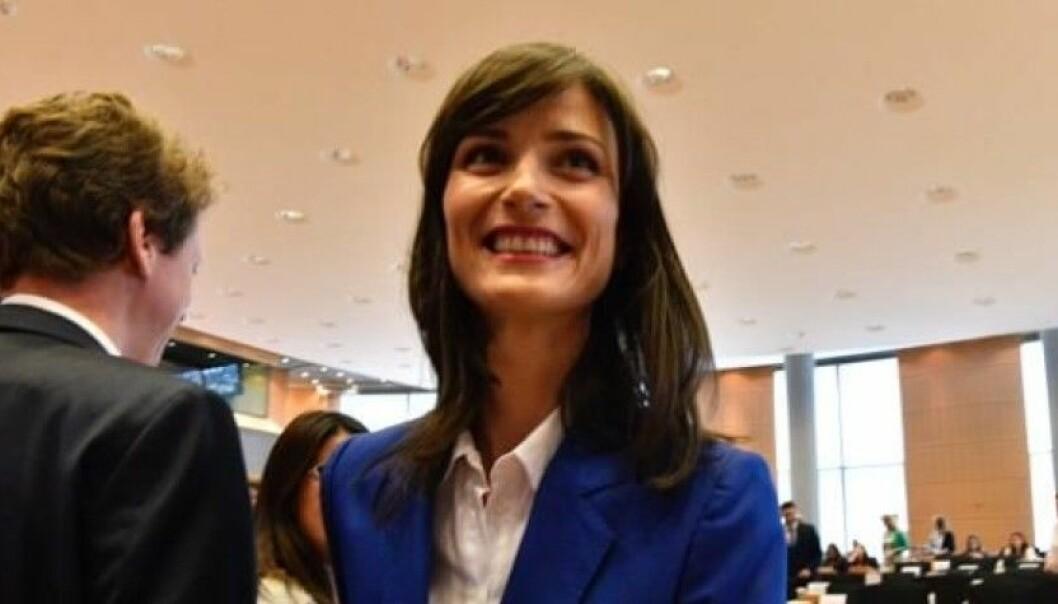 Mariya Gabriel kan bli nødt til å kjempe om penger når hun går på som kommisær med ansvar for forskning. Foto: Mauro Bottaro/EU