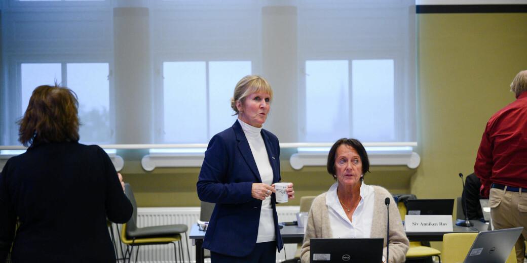 Organisasjonsdirektør ved NTNU, Ida Munkeby, seier ho jamleg tar opp mållova med leiarane sine. Hennar inntrykk er at dei er for travle til å følgje opp lovkrava.