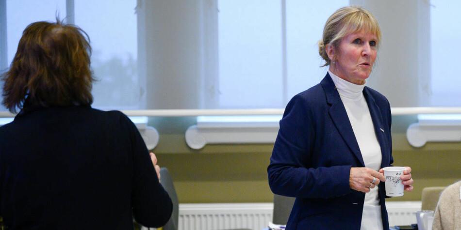 Organisajsonsdirektør Ida Munkeby har kalt Øyvind Eikrem inn til møte, men han har vært forhindret fra å møte. Foto: Skjalg Bøhmer Vold