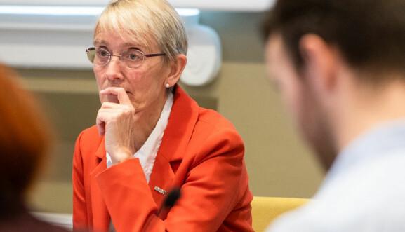 Rektor ved NTNU, Anne Borg, fikk ingen garantier om økonomisk kompensasjon for koronatiltak.