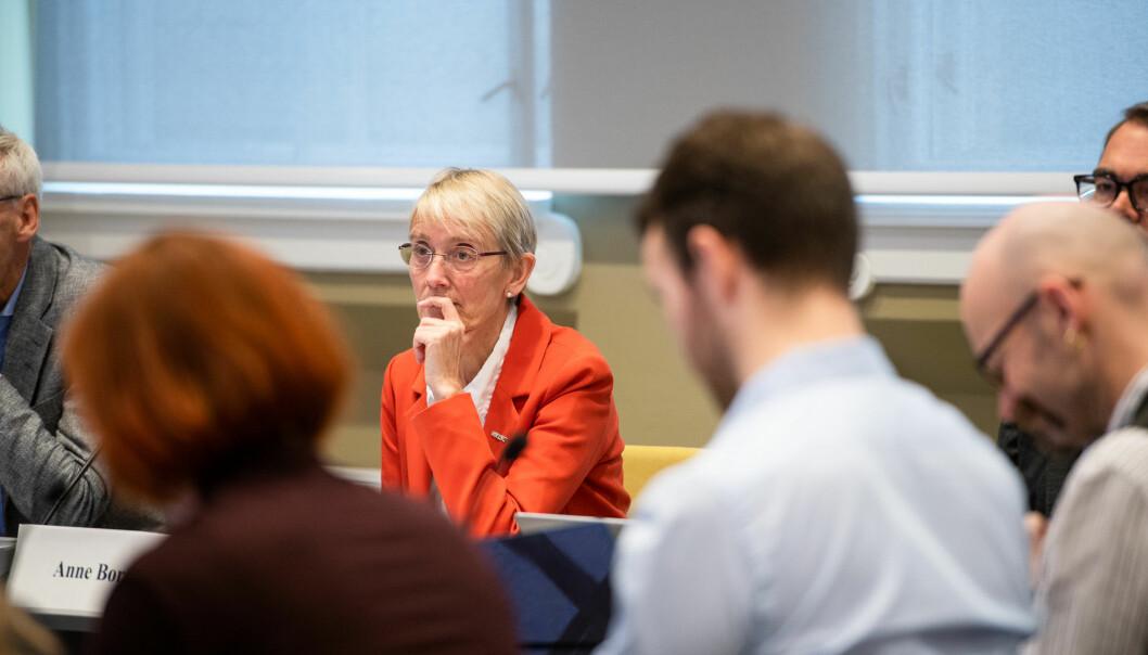 Anne Borg, rektor for NTNU, ønskers eg muligheten til å ansette instituttledere uten førstekompetanse.