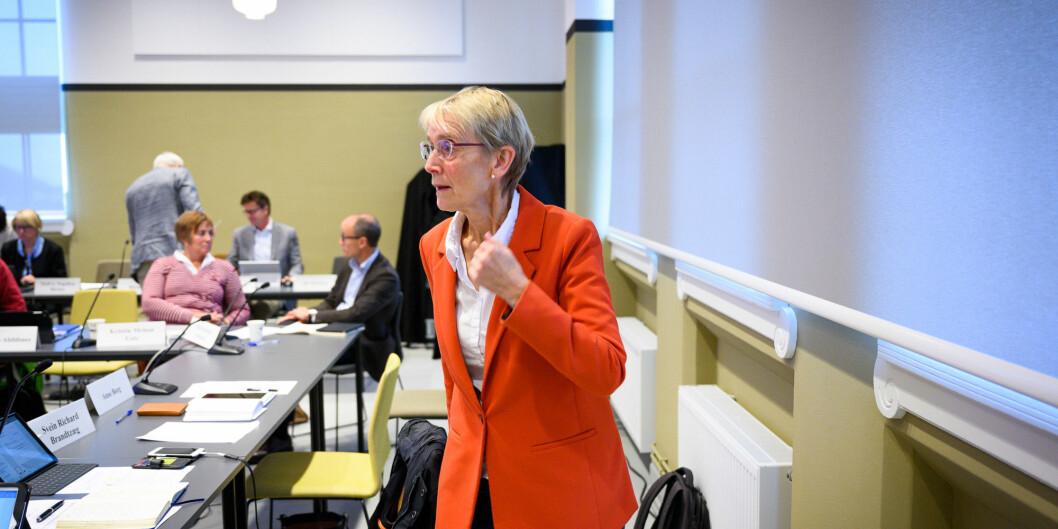 Konstituert rektor på NTNU, Anne Borg. Foto: Skjalg Bøhmer Vold