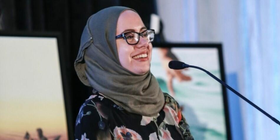 Roubha Mhaissen er grunnlegger og leder av Sawa for Development and Aid (SDAID) som arbeider med å forbedre livssituasjonen til syriske flykninger i Libanon. Foto: Raftostiftelsen