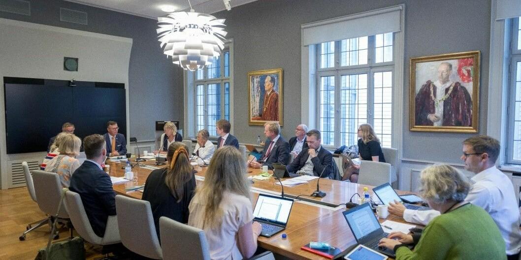 Styret på Universitet i Bergen har møtet torsdag 26. september.