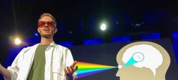 Daniel Vethe er årets vinner av Forsker Grand Prix