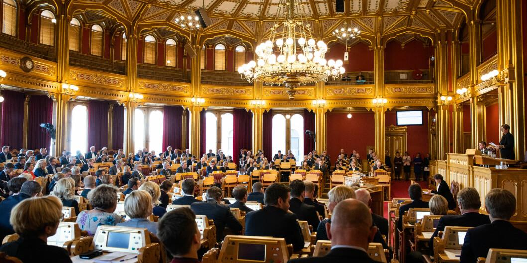 Mandag er det høring i Stortinget om struktursaken i Nord universitet. For det første kan forslaget være ulovlig, fordi det butter mot universitets- og høgskoleloven, skriver Espen Leirset. Foto: Stortinget