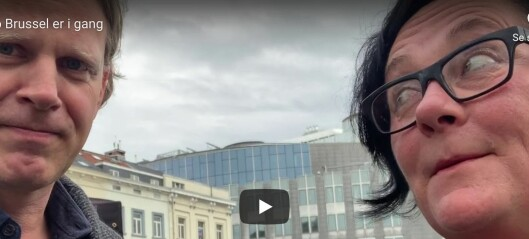 Khrono på plass i Brussel
