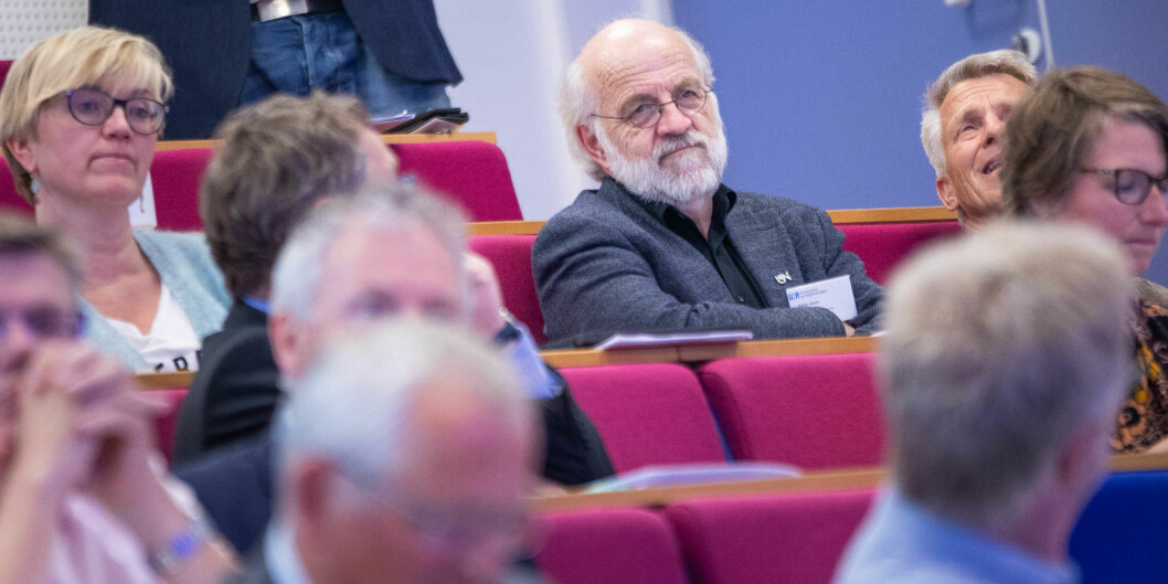 Ifølge Petter Aasen, rektor ved Universitetet i Sørøst-Norge, var ambisjonen med strukturreformen å legge til rette for desentral utdanning av høy kvalitet. Foto: Siri Øverland Eriksen