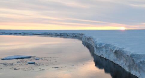 Leder forskning på isen på Sydpolen med Europas fremste forskere