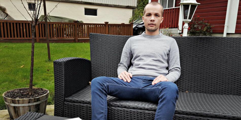 Alexander Lundgreen fikk avslag på søknad om lisens som psykolog i Norge etter fem år med studier. Siden da ha livet stått på vent. Foto: Anna Pálinkás
