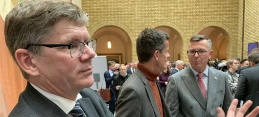 Reagerer på «drittpakke»-kommentar om kunnskapsministerpost