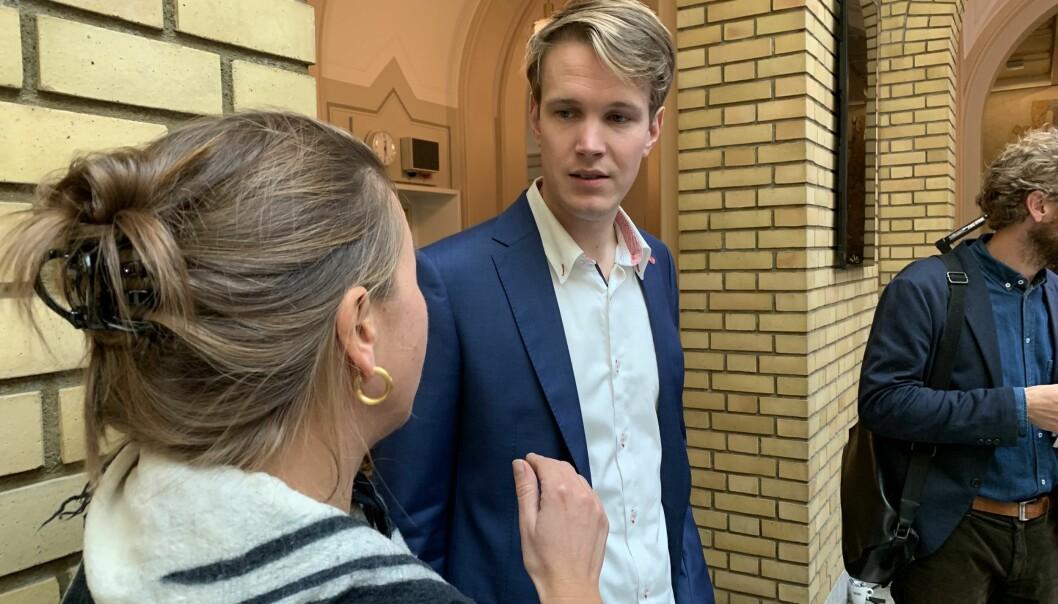 Torstein Tvedt Solberg, utdanningspolitisk talsperson i Ap, er bekymret når han ser nedgangen i søkertall til lærerutdanningene.