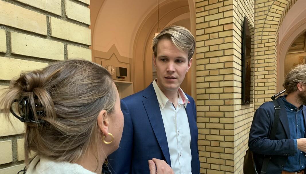 — Det er et grundig arbeid som ligger bak vårt forslag, sier Aps Torstein Tvedt Solberg.