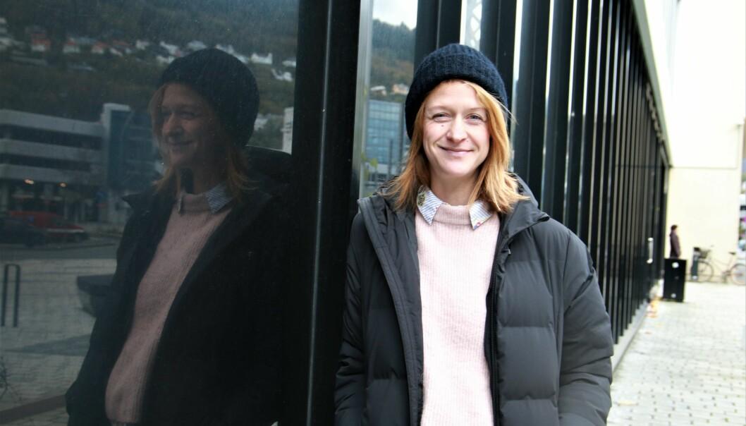 Marit Eggen og Høgskulen på Vestlandet (HVL) inviterer studenter til idègenereringsevent i Bergen med søkelys på psykisk helse hos unge. Foto: Jan Willie Olsen