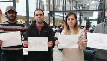 Ferske ph.d.-kandidater får flere tusen kroner mer i årslønn enn kolleger med lenger ansiennitet