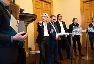 Historisk valgkamp på jus i Oslo