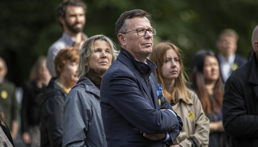 Dag Rune Olsen innrømmer at han burde ha informert dekanane sine om at han søkte rektorstillinga ved NTNU. Foto: Siri Øverland Eriksen
