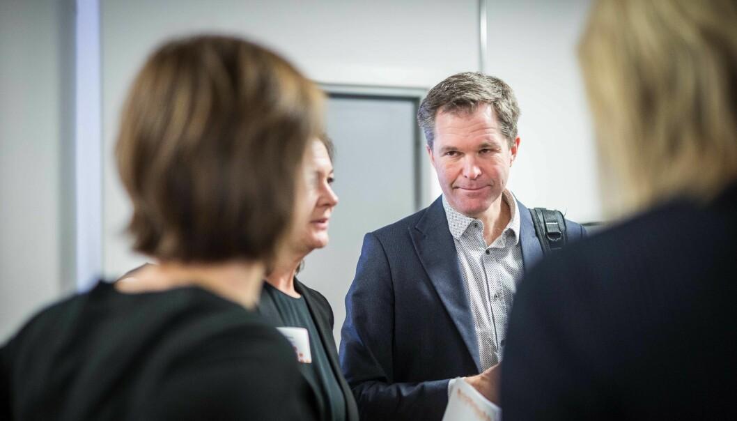 Ifølge Forskningsrådet, her ved direktør John-Arne Røttingen, har andelen av EU-midlene som går til Norge aldri være større. Foto: Siri Øverland Eriksen