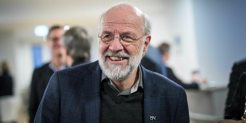 Fra 1. januar 2020 tar nåværende USN-rektor Petter Aasen fatt på en ny rektorperiode. Det ser 67-åringen frem til. Foto: Siri Øverland Eriksen