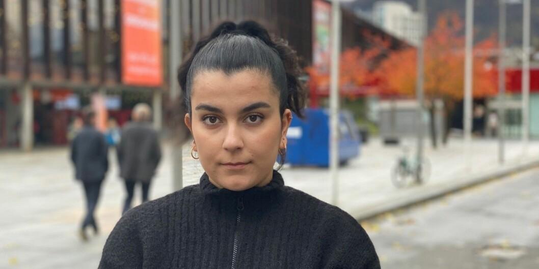 Shayan Wasta, leder i Kurdistan Student Union i Bergen. Foto: Privat