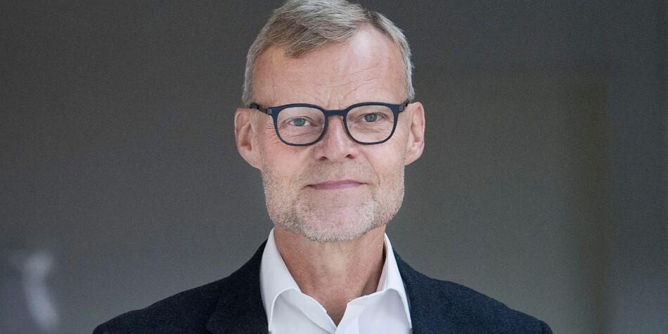Per Michael Johansen, rektor ved Aalborg universitet, trekker sin søknad som rektor ved NTNU. Foto: Aalborg universitet.