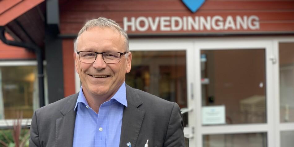 Frank Westby. Skolesjef, Frogn kommune. Foto: Eva Tønnessen