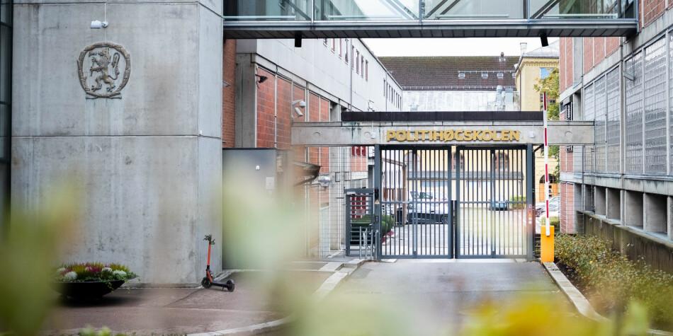 Politihøgskolen i Oslo kan bli slått sammen med Kriminalomsorgens høgskole og utdanningssenter. Foto: Torkjell Trædal