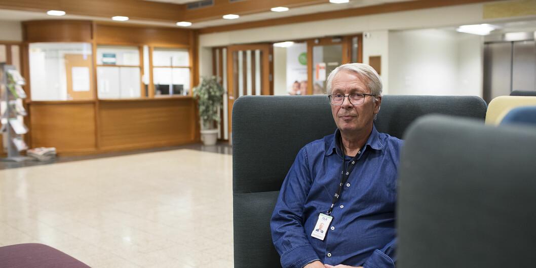 — Styret er for god, fri forskning hvis det stemmer med fasit, sier professor ved NLA Høgskolen, Oddvar Johan Jensen. Foto: Silje Katrine Robinson