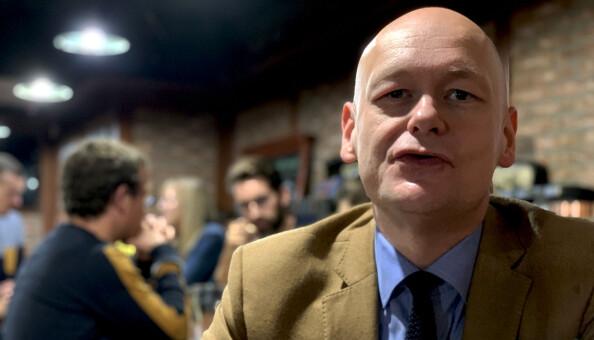Professor og partikkelfysiker Are Raklev. Foto: Espen Løkeland-Stai