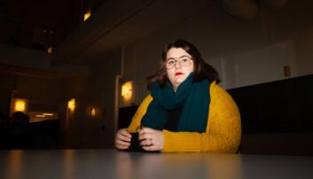Student Helene Sæle forteller at hun har opplevd et dårligere tilbud fra tolketjenestne denne høsten. Foto: Mats Arnesen