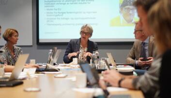 Styret ved OsloMet behandlet rapporten for andre tertial 24. oktober. Foto: Ketil Blom Haugstulen