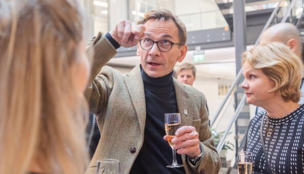 Christen Krogh, prorektor for forskning ved Høyskolen Kristiania. Foto: Torkjell Trædal