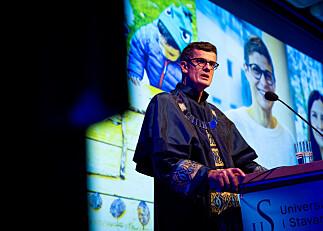 Prisutdeling og fest då Universitetet i Stavanger feira sine første femten år