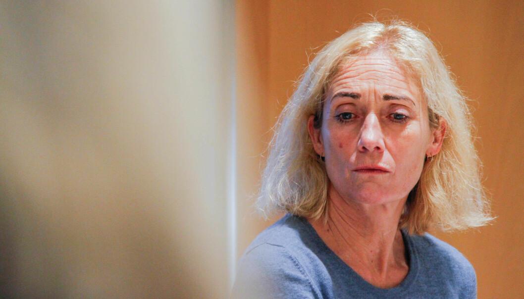 Rektor på Politihøgskolen, Nina Skarpenes, advarte mot konsekvensene av det som ble regjeringens politikk. Foto: Torkjell Trædal