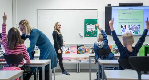 Dystre tall for opptaket til utdanningene av grunnskolelærere