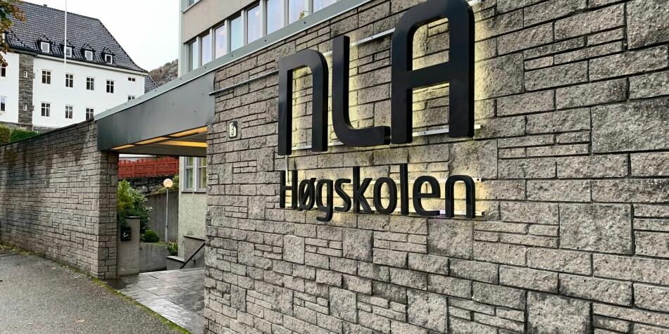 NOKUT har mottatt flere bekymringsmeldinger om NLA Høgskolen. Nå skal de revidere deres høyskoleakkreditering. Foto: Ragnhild Bjørge