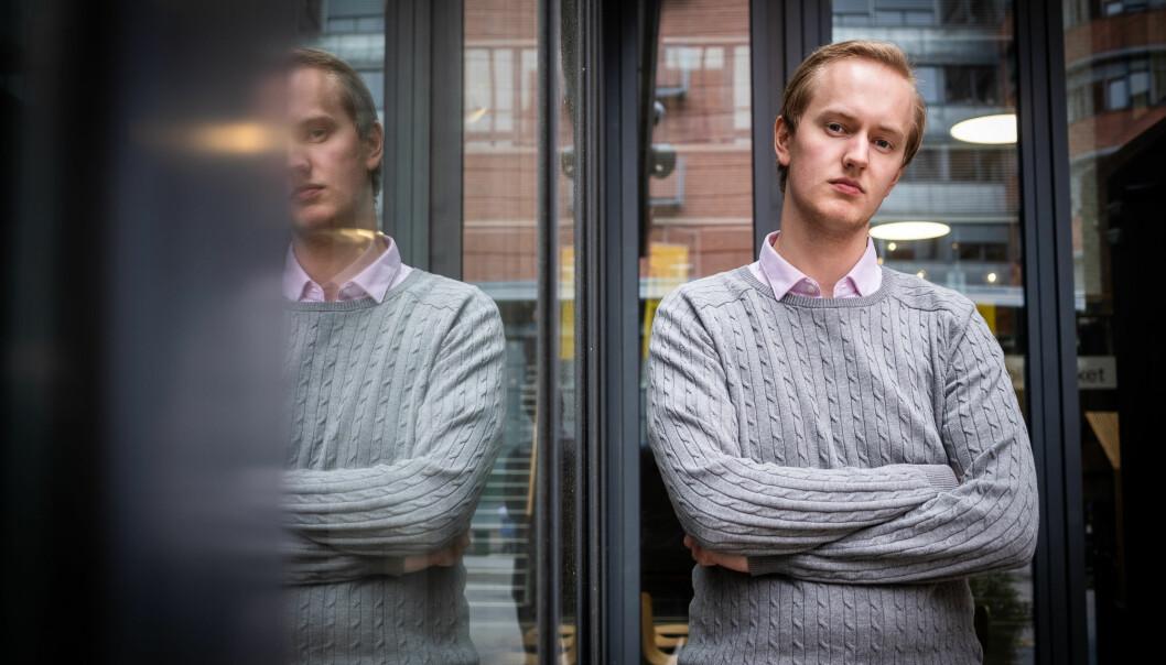 Ola Gimse Estenstad reagerer på at skattepenger går til kristne høgskoler. Foto: Torkjell Trædal