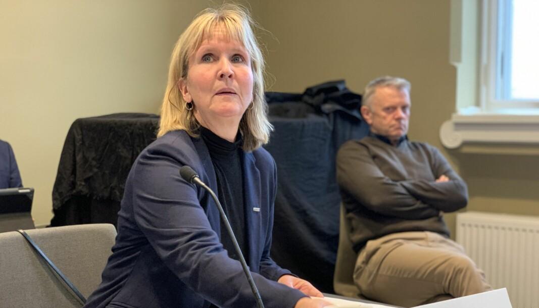 Det er ikke ulovlig å ta bilder på campus, mener organisasjonsdirektør ved NTNU, Ida Munkeby.