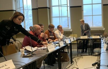 Styremøte ved NTNU, 31. oktober 2019. Foto: Ragnhild Vartdal